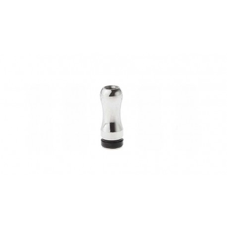 Drip Tips en acier inoxydable à bout rond pour 510 / ViVi Nova / DCT