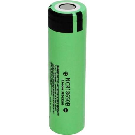 Batterie 18650 3400 mah 3.7 v batterie au lithium panasonic NCR18650B
